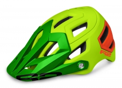 Шлем R2 Trail neon yellow, neon red, matt ATH08B/L