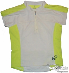 Джерси FOX Racing Girls Base s/s Jersey Chalk