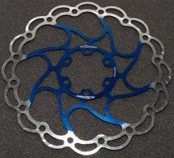 Ротор - Alligator - ARIES Disc Brake Rotor 203mm/Blue/ HK-R23BL