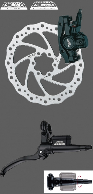 Инструкция дисковые тормоза tektro auriga comp