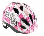 Шлем - KELLYS - BUGGIE белый цветок