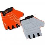 Велоперчатки - X-17 - XGL-118OR детские, оранжево-черные