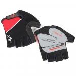 Велоперчатки X-17 XGL-511RD красно-черные