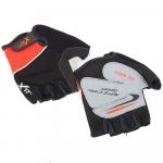 Велоперчатки X-17 XGL-511OR оранжево-черные