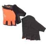 Велоперчатки X-17 XGL-525OR оранжево-черные