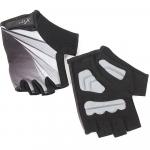 Велоперчатки X-17 XGL-554BK гелевые, черные
