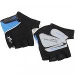 Велоперчатки X-17 XGL-511BL сине-черные