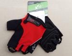 Велоперчатки - X-17 - XGL-524RD красно-черные