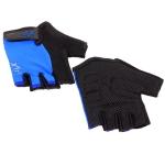 Велоперчатки X-17 XGL-525BL сине-черные