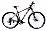 Велосипед - KINETIC - STORM - ALU 2017 черно-оранжевый