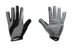 Велоперчатки OnRide Long серо-черные