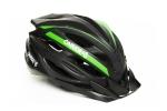 Шлем - OnRide - Grip матовый черно-зелёный