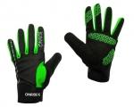 Велоперчатки OnRide Pleasure, черно-зелёный