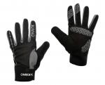 Велоперчатки - OnRide - Pleasure, черно-серый