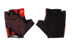 Велоперчатки OnRide TID красный-черный