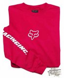 Толстовка - FOX Racing - Forever Fox Head Crew Fl Red