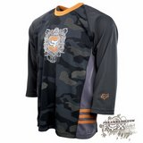 Джерси - FOX Racing - Commando Jersey Black Camo