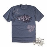 Футболка - FOX Racing - Counterfeit Heathered s/s Tee Grey