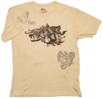 Футболка FOX Racing Counterfeit Heathered s/s Tee Khaki