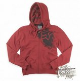 Толстовка - FOX Racing - Practice Imperfect Zip Hoody Red
