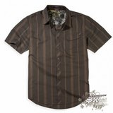Рубашка - FOX Racing - Monument s/s Woven Dark Brown