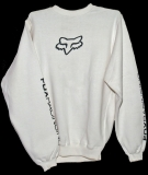 Толстовка - FOX Racing - Forever Fox Head Crew Fleece White
