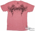 Футболка - FOX Racing - Gargoyle Heathered s/s Tee Red