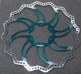 Ротор - Alligator - STARLITE Disc Brake Rotor 180mm/Green, HK-R19GN